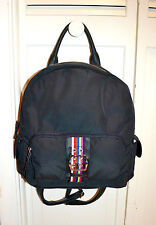 NWT $79 TYLER RODAN Oxford Sml Flap Backpack Bag Black Urban Chic