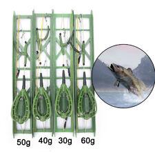 Fishing hooks Fishing Bait Cage lead Swivel With Line Hooks For Carp Feeder TK
