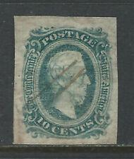 Bigjake: CSA #11, 2 cent Jefferson Davis