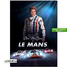 Steve McQueen in Le Mans volume 1 COMIC PORSCHE 917 FERRARI 512 Garbo TEDESCO NUOVO