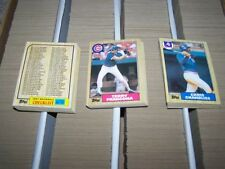 1985 1986 1987 Topps, OPC, Mini, Other Complete Your Set You Pick 20 Lot NRMT