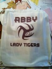 Personalized Sports Drawstring Bags