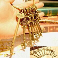 Harry Potter Gringotts Wizarding Bank Keys 11 designes wintage Bronze keychains