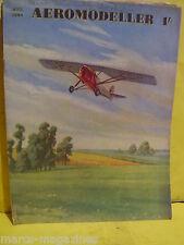 RARE AEROMODELLER AUGUST 1944 LOP RWD8 TRAINER MODEL AIRCRAFT C RUPERT MOORE
