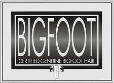 BIGFOOT HAIR strands..............this item is listed under 'Fantasy, Mythical'