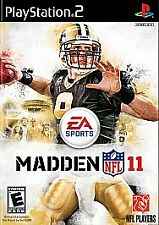 Madden NFL 11 (Sony PlayStation 2, 2010)    DISC ONLY    FAST SHIPPING  PS2