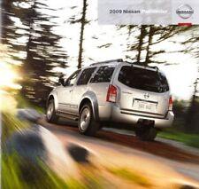 2009 09 Nissan Pathfinder original sales brochure Mint