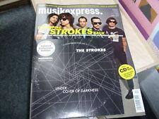 """Musikexpress - April 2011 - Heft incl. CD & Strokes 7"""" Single"""