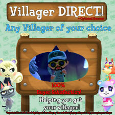 Villager Move-In Services- Any Villager! (Animal Crossing New Horizons)