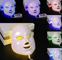 7 Colors Photon LED Electric Facial Mask Skin Care Rejuvenation Freckle Therapy