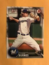 2016 Bowman Draft CORBIN BURNES Rookie Card RC BREWERS #BDC-89, QTY Available