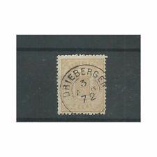 "Nederland 17B met ""DRIEBERGEN 1872"" franco-takje VFU/gebr  CV 120+ €"
