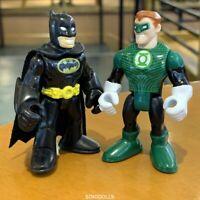 2X Imaginext DC Comics Green Lantern & BATMAN Fisher-Price Figure toy gift