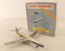 Dinky Toys F 60F avion caravelle SE210 Air France jamais joué  en boite