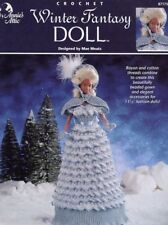Winter Fantasy Barbie Doll Outfit Annie's Crochet Pattern 30 Days To Shop & Pay!