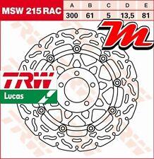 Disque de frein Avant TRW Lucas MSW 215 RAC pour Kawasaki GPZ 1100 ZXT10E 95-99