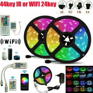2835 LED Strip Light 5050 SMD RGB 30Leds/m Waterproof WIFI IR Controller DC12V