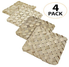 3428 Pk4 4-Inch Palm Mat Foraging Bird Toy parrot cage toys cages craft amazon