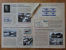 Q343-ALEMANIA AEREI,AVIAZIONE,DOCUMENTO SPAZIALE 2004,SERIE COMPLETA,1º GIORNO