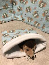 Cute cotton Hedgehog- snuggle sack- small animal Bonding Bag -hedgie -Guinea pig