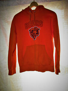 Chicago Bears Orange Hoodie