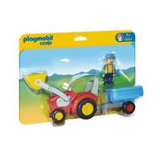 PLAYMOBIL 6964 Playmobil 1.2.3. - Tractor with Trailer