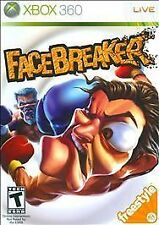 FaceBreaker (Xbox 360, PAL Format, 2008) Usually ships within 12 hours!!!