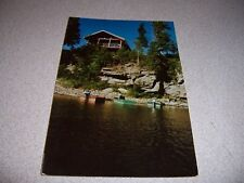 1980s BIG HOLE BROOK MIRAMICHI RIVER DOAKTOWN NB. CANADA VTG POSTCARD
