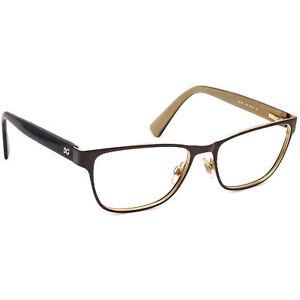 Dolce & Gabbana Eyeglasses DG 1273 1269 Brown on Gold/Tortoise Frame 53[]16 140