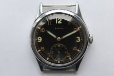 Very Rare Vintage Watch Military Zenith DH German Army WWII cal.12-4-6 1940`S