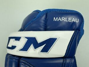New! CCM Patrick Marleau Toronto Maple Leafs NHL Pro Stock Hockey Gloves LEATHER