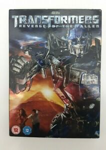 TRANSFORMERS Revenge Of The Fallen (DVD, 2009) Used Like New Condition Sci-fi