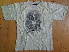 Suma - Burning Skull - T-shirt Sweden Doom XL