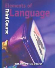 Elements of Language by O'Dell (2000, Hardcover)
