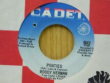 Woody Herman jazz 45 Pontieo bw Keep On Keepin' Cadet