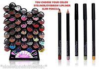 45 Colors KLEANCOLOR Eye Shadow Eyeliner Lip Liner Pencil Pen Cosmetic Makeup