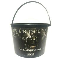 Plastic Popcorn Bucket Batman The Dark knight Rises Movie 2012 Cinemas Thailand