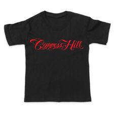 T-shirts et hauts noirs sans marque pour garçon de 2 à 16 ans en 100% coton