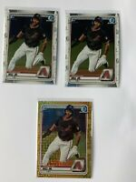 2020 Bowman 1st Chrome Baseball Lot Glenallen Hill Jr Mojo Chrome Refractor /50