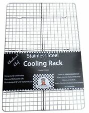 Cooling Rack Baking Cookie Kitchen Sheet Oven Candy Pan Bacon Checkered Chef New