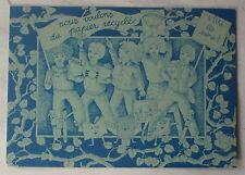 Carte postale Publicité Papier recyclé,   postcard