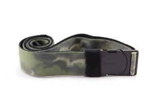 "New Dakine Men's Reach Belt Olive Ashcroft Camo O/S (Up to 38"")"