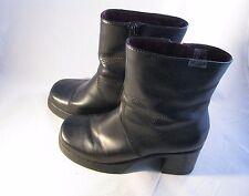 Mudd Delight Chunky Grunge Goth Punk Combat Boots Black Size 9M