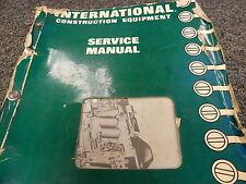International Ih 175 175B Loader & Td15B Crawler Tractor Service Repair Manual