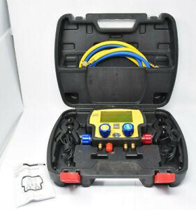 UEi AK940 Digital  Refrigerant System Analyzer 4 Valve