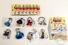 Set x 8 Dragon Quest Theatrhythm Metal Charms / Straps Gashapons [JAP] NEUF