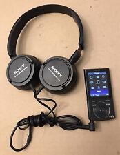 Sony NWZ-E344 Digital mp3 Media Player Bundle W/ Sony Headphones