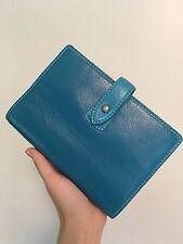 New Filofax Malden Kingfisher Blue Personal Size Planner Agenda