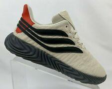 Adidas Men's Sobakov Shoes Off White Amber Core Black BD7548 Sz 10