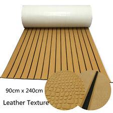 Leather Texture EVA Foam Teak Carpet for Boats Yacht Marine Floor 90cm x 240cm